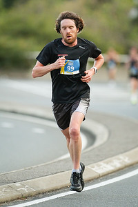 Triathlete Dan Wilson - 2017 Sunday Mail Brisbane to Brisbane Fun Run, Sunday 27 August; Queensland, Australia. Camera 2. Photos by Des Thureson - http://disci.smugmug.com