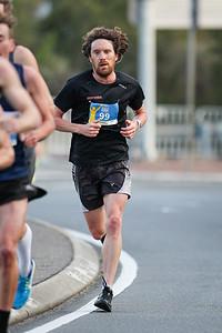Triathlete Dan Wilson - 2017 Sunday Mail Brisbane to Brisbane Fun Run, Sunday 27 August; Queensland, Australia. Camera 2. Photos by Des Thureson - http://disci.smugmug.com