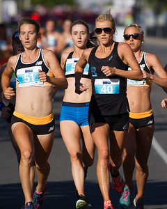 Genevive Lalonde, Elouise Wellings, Genevieve LaCaze - 2016 ASICS Bolt (Noosa 5k Bolt Run) - Super Saturday at the Noosa Triathlon Multi Sport Festival, Noosa Heads, Sunshine Coast, Queensland, Australia. Saturday 29 October 2016. - Camera 1
