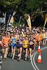 Shortly after the Men's start - Noosa 5k Bolt, Noosa Multi Sport Festival, Noosa Heads, Sunshine Coast, Queensland, Australia; 30 October 2010.