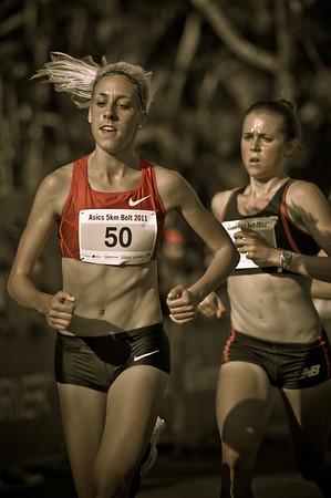 "Alternate Processing: ""Matt's 300 Look - Strong"" - Women's Winner: Susan KUIJKEN - 2011 Men's & Women's Asics 5k Bolt (Run) - Super Saturday at the Noosa Triathlon Multi Sport Festival, Noosa Heads, Sunshine Coast, Queensland, Australia; 29 October 2011."