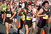 Men's Winner Collis Birmingham, with Ben St Lawrence, Brett Robinson & Jordan WILLIAMSZ - 2011 Men's & Women's Asics 5k Bolt (Run) - Super Saturday at the Noosa Triathlon Multi Sport Festival, Noosa Heads, Sunshine Coast, Queensland, Australia; 29 October 2011.
