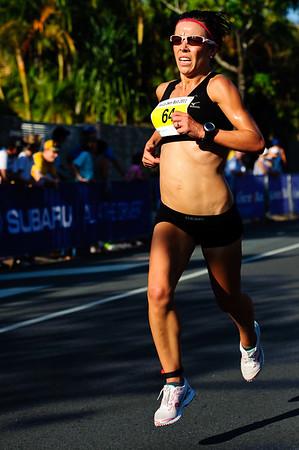 "2011 Men's & Women's Asics 5k Bolt (Run) - Super Saturday at the Noosa Triathlon Multi Sport Festival, Noosa Heads, Sunshine Coast, Queensland, Australia; 29 October 2011. (""Camera Vivid"")"