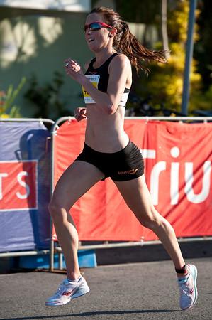2011 Men's & Women's Asics 5k Bolt (Run) - Super Saturday at the Noosa Triathlon Multi Sport Festival, Noosa Heads, Sunshine Coast, Queensland, Australia; 29 October 2011.