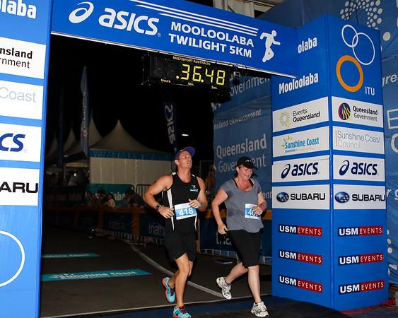 2012 ASICS Twilight 5km Run; Mooloolaba, Sunshine Coast, Queensland, Australia; 23 March 2012. Photos by Des Thureson - disci.smugmug.com.