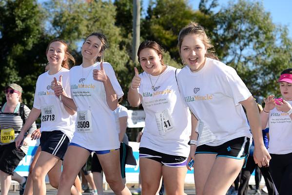 "Villa Miracle - 2012 Sunday Mail Suncorp Bridge to Brisbane Fun Run; Sir Leo Hielscher Bridge (Gateway Bridge) to RNA Showgrounds. Camera 1. Photos by Des Thureson:  <a href=""http://disci.smugmug.com"">http://disci.smugmug.com</a>."