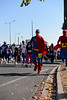 "Superman & Spiderman - 2012 Sunday Mail Suncorp Bridge to Brisbane Fun Run; Sir Leo Hielscher Bridge (Gateway Bridge) to RNA Showgrounds. Camera 1. Photos by Des Thureson:  <a href=""http://disci.smugmug.com"">http://disci.smugmug.com</a>."