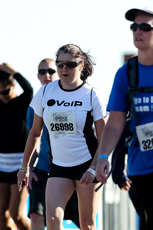 """26998 - 2012 Sunday Mail Suncorp Bridge to Brisbane Fun Run; Sir Leo Hielscher Bridge (Gateway Bridge) to RNA Showgrounds. Camera 2. Photos by Des Thureson:  <a href=""""http://disci.smugmug.com"""">http://disci.smugmug.com</a>. - The images in this gallery have not been edited / cropped. If you order a print, these images will be edited / corrected / cropped before being printed. (If you wish to purchase a download, you can either:  1. Purchase the image 'as is', or 2. Email me and ask me to edit the image prior to your purchase.) Des."""