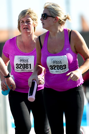 """32081, 32083 - 2012 Sunday Mail Suncorp Bridge to Brisbane Fun Run; Sir Leo Hielscher Bridge (Gateway Bridge) to RNA Showgrounds. Camera 2. Photos by Des Thureson:  <a href=""""http://disci.smugmug.com"""">http://disci.smugmug.com</a>. - The images in this gallery have not been edited / cropped. If you order a print, these images will be edited / corrected / cropped before being printed. (If you wish to purchase a download, you can either:  1. Purchase the image 'as is', or 2. Email me and ask me to edit the image prior to your purchase.) Des."""
