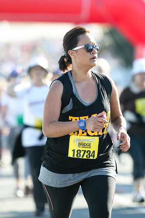 """18734 - 2012 Sunday Mail Suncorp Bridge to Brisbane Fun Run; Sir Leo Hielscher Bridge (Gateway Bridge) to RNA Showgrounds. Camera 2. Photos by Des Thureson:  <a href=""""http://disci.smugmug.com"""">http://disci.smugmug.com</a>. - The images in this gallery have not been edited / cropped. If you order a print, these images will be edited / corrected / cropped before being printed. (If you wish to purchase a download, you can either:  1. Purchase the image 'as is', or 2. Email me and ask me to edit the image prior to your purchase.) Des."""
