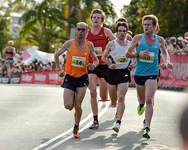 Steve Moneghetti - 2012 ASICS Bolt 5km Run (Asics 5k Bolt) - Men & Women; Mooloolaba, Sunshine Coast, Queensland, Australia; 03 November 2012. Photos by Des Thureson.