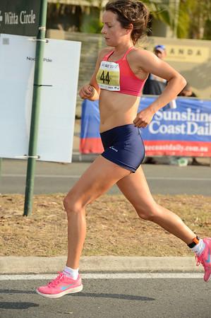Harriet Smith - 2012 ASICS Bolt 5km Run (Asics 5k Bolt) - Men & Women; Mooloolaba, Sunshine Coast, Queensland, Australia; 03 November 2012. Photos by Des Thureson