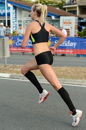 Susan Kuijken - 2012 ASICS Bolt 5km Run (Asics 5k Bolt) - Men & Women; Mooloolaba, Sunshine Coast, Queensland, Australia; 03 November 2012. Photos by Des Thureson