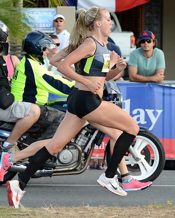 Lucy Van Dalen, Susan Kuijken - 2012 ASICS Bolt 5km Run (Asics 5k Bolt) - Men & Women; Mooloolaba, Sunshine Coast, Queensland, Australia; 03 November 2012. Photos by Des Thureson
