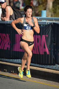 Coreena Cleland - 2014 ASICS Bolt - 2014 Super Saturday at the Noosa Triathlon Multi Sport Festival, Noosa Heads, Sunshine Coast, Queensland, Australia. Camera 1. Photos by Des Thureson - http://disci.smugmug.com - Camera 1.