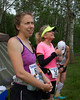 Competitor in Chesterwood Trail Ultra Marathon, Eoyta, Minnesota, Chesterwood County Park