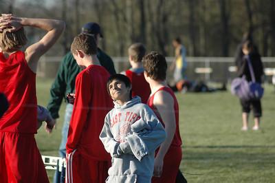4-16-07 East Tipp vs Delphi held Track and Field Meet at Harrison High School April 16, 2007