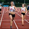 Yasmine Vennekens & Lenie Ooms finishend op de 200 M
