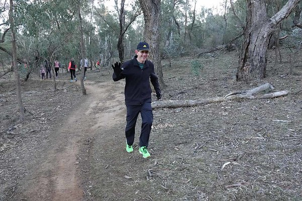 11 Aug 2018 Mt Ainslie parkrun