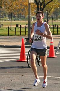 Winner Andrew Dumm (Arlington VA) First Place (2:22:44)