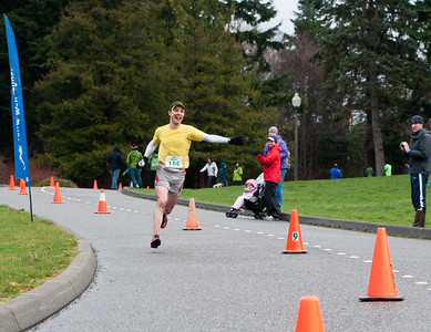 2012 Chuckanut 50k Finish