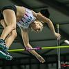 Aurélie De Ryck (AC Lyra) @ Polsstokspringen - Belgisch Kampioenschap Indoor Atletiek 2016 - BLOSO Topsporthal - Gent
