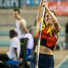 Jozefien Willemen (ACBR) @ Polsstokspringen - Belgisch Kampioenschap Indoor Atletiek 2016 - BLOSO Topsporthal - Gent
