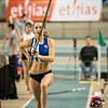 Hanne Borstlap (AC Herentals) @ Polsstokspringen - Belgisch Kampioenschap Indoor Atletiek 2016 - BLOSO Topsporthal - Gent