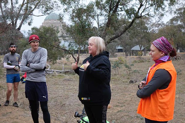 26 May 2018 Mt Ainslie parkrun