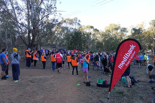 28 Apr 2018 Mt Ainslie parkrun