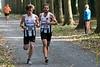 Halfweg de wedstrijd reeds mooie voorsprong voor FLAC atleten Yngwie Vanhoucke & Bert Hoornaert - 5de Kermisloop - Elverdinge - West-Vlaanderen - België
