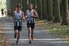 Yngwie Vanhoucke & Bert Hoornaert van FLAC aan de leiding - 5de Kermisloop - Elverdinge - West-Vlaanderen - België