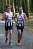 Yngwie Vanhoucke & Bert Hoornaert van FLAC in de kasteeldreef - 5de Kermisloop - Elverdinge - West-Vlaanderen - België