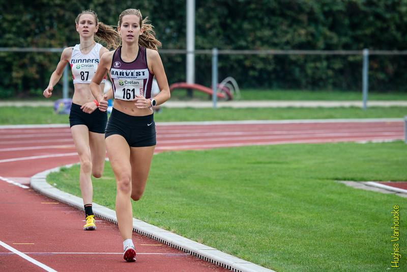 Winnares Lieselotte Schellekens gevolgd door Michèle De Smet