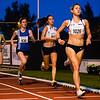 Derde ronde van de 3.000 M dames met op kop de Brugse Lore Tack gevolgd door Esther Schouten, Jolien Boonen & Martine Melina