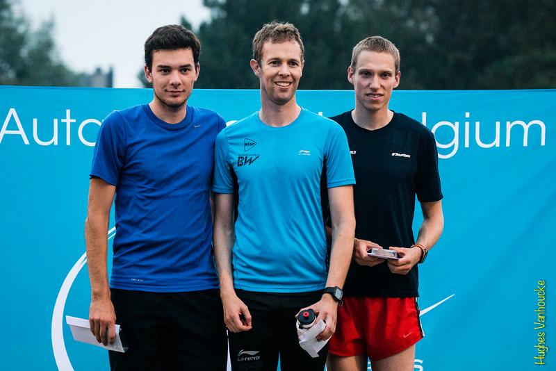 Podium JSM, vlnr: Andy Grobben, Maarten Verbiest & Gijs Jacobs (NL)