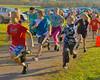 Family Fun Run event at the 2011 Apple Run at the LaFayette Apple Festival, LaFayette, New York.