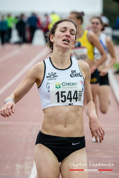 Zilver voor Jolien De Meyer (RC Gent) - 800 M Dames Beloften - Julien Saelens Stadion - Brugge - West-Vlaanderen