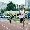 Dylan Owusu wint de 400 M Horden bij de juniors - BK Juniors & Beloften - Julien Saelens Stadion - Brugge - West-Vlaanderen