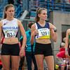 Ella Vanpoucke (FLAC Izegem), Elise Corman (Herve) & Lieze Dockx (Bonheiden) - 800 M Dames Juniors - Julien Saelens Stadion - Brugge - West-Vlaanderen