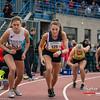 Start van de 800 M Juniores dames  met vlnr Ella Vanpoucke (FLAC Izegem), Elise Corman (Herve), Lieze Dockx (Bonheiden) & Louise Hayez (White Star Brussel) - 800 M Dames Juniors - Julien Saelens Stadion - Brugge - West-Vlaanderen