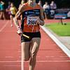 Nathalie D'hondt van AV Molenland op de 4 x 800 masters dames - BK Aflossingen 2015 - AS Rieme Atletiekpiste - Ertvelde - Oost-Vlaanderen