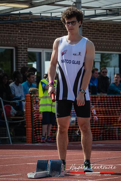 Thomas Veryser (FLAC Ieper) - BK Aflossingen 2015 - AS Rieme Atletiekpiste - Ertvelde - Oost-Vlaanderen