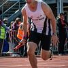 Thomas Veryser (FLAC Ieper) op de 4 x 200 M - BK Aflossingen 2015 - AS Rieme Atletiekpiste - Ertvelde - Oost-Vlaanderen