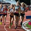 Doortocht van de 4 x 800 M dames alle categoriën - BK Aflossingen 2015 - AS Rieme Atletiekpiste - Ertvelde - Oost-Vlaanderen
