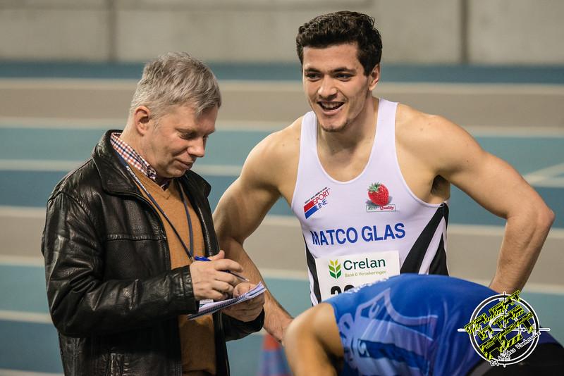 Pers - 400 M - Belgisch Kampioenschap Indoor Atletiek - BLOSO Topsporthal - Gent