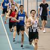 De zege gaat naar Mathias Sanctorum - 400 M - Belgisch Kampioenschap Indoor Atletiek - BLOSO Topsporthal - Gent