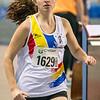 Brons voor Vicky Groffen - 800 M dames beloften - Belgisch Kampioenschap Indoor Atletiek - BLOSO Topsporthal - Gent