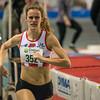 Brons voor Ellen Beddeleem - 800 M dames juniors - Belgisch Kampioenschap Indoor Atletiek - BLOSO Topsporthal - Gent