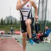 6,35 Meter sprong van Maxim Sanctorum was goed voor zilver op het Belgisch Kampioenschap Beloften te Moeskroen
